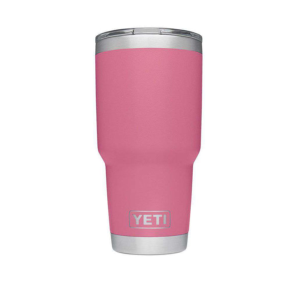 30 oz. DuraCoat  Rambler Tumbler in Harbor Pink with Magslider™ Lid by YETI