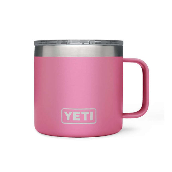 Rambler 14oz. Mug in Harbor Pink by YETI