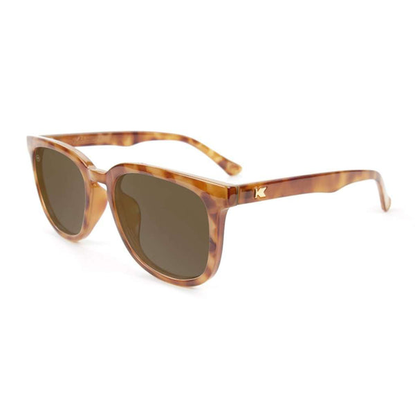 Country Club Prep Glossy Blonde Tortoise Shell with Amber Lenses