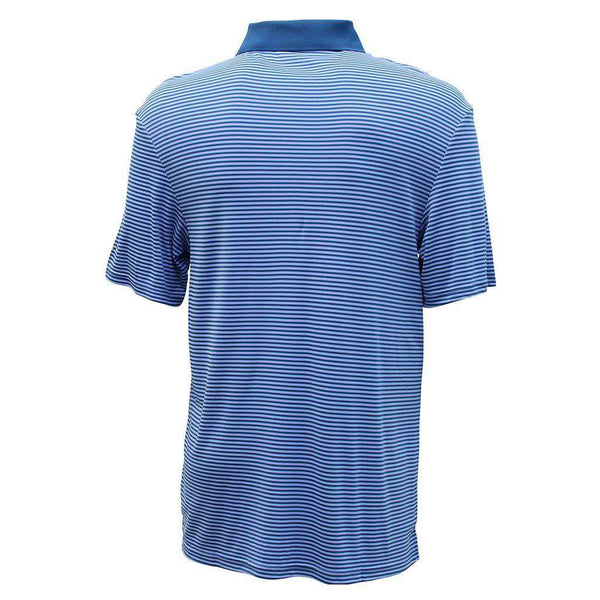 Divot Performance Polo in Blue Steel by AFTCO - FINAL SALE