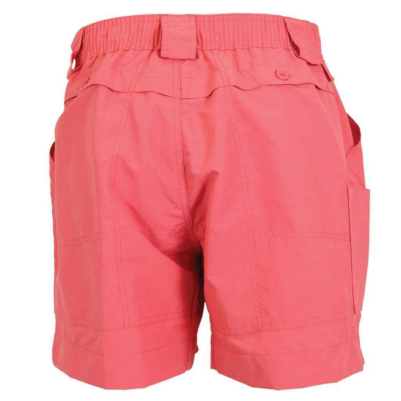 Fishing Shorts in Rose by AFTCO