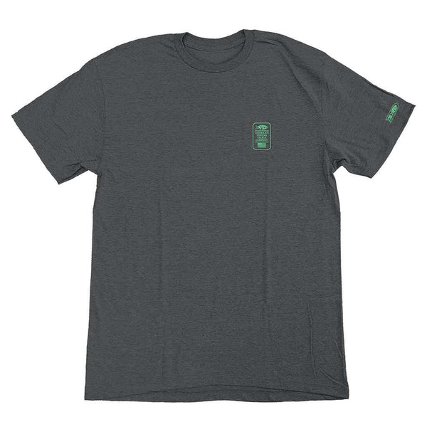 Wammo Tee Shirt in Charcoal Heather by AFTCO - FINAL SALE