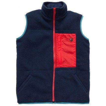 All Prep Vest in Navy by Southern Proper