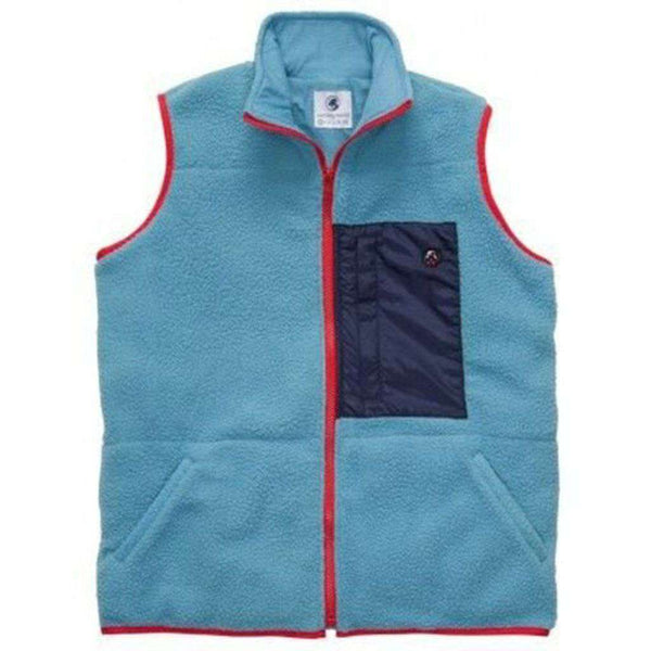 All Prep Vest in Retro Blue by Southern Proper