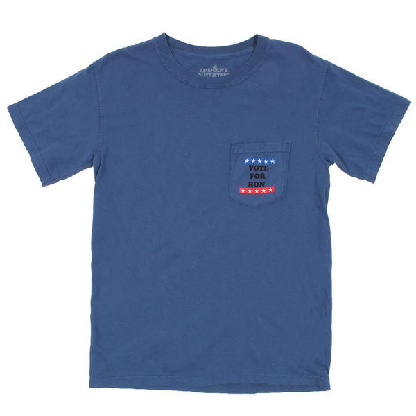 Vote For Ron Tee in Blue by America's Outfitters - FINAL SALE