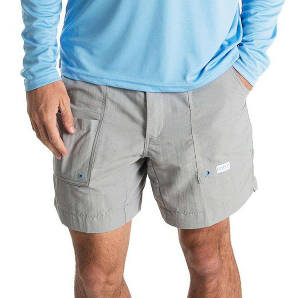 "Angler Shorts 6.5"" in Grey by Coast"