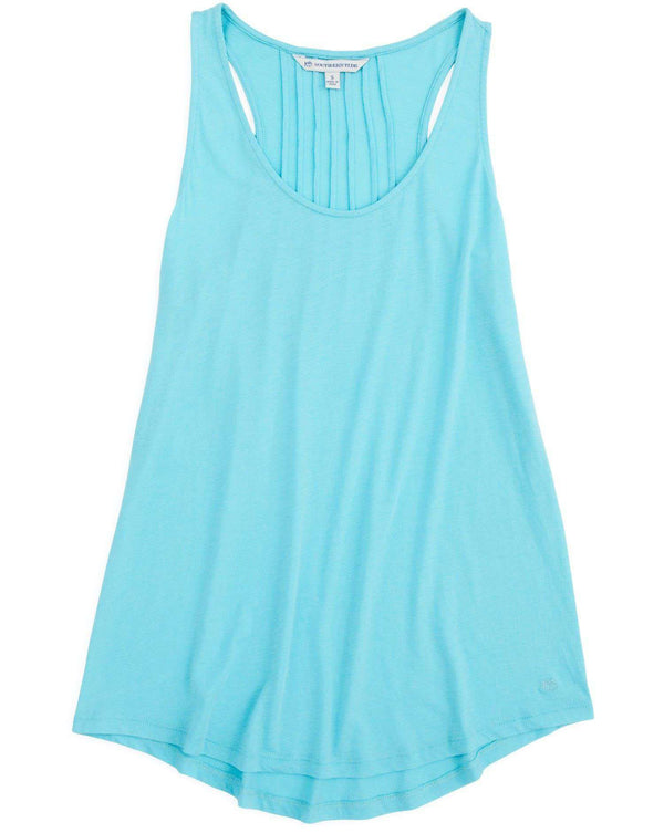 Anna Tank in Crystal Blue by Southern Tide  - 3