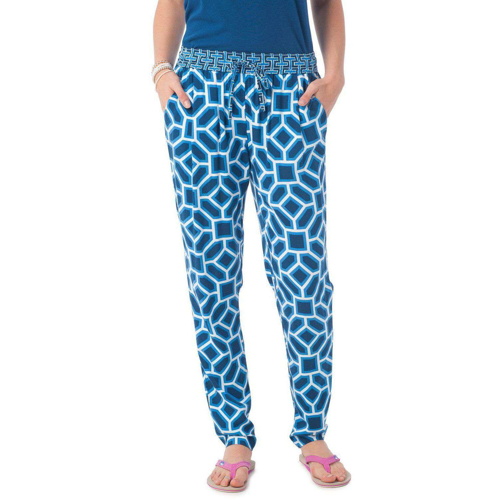 Avery Pant in Mosaic Print by Southern Tide  - 1