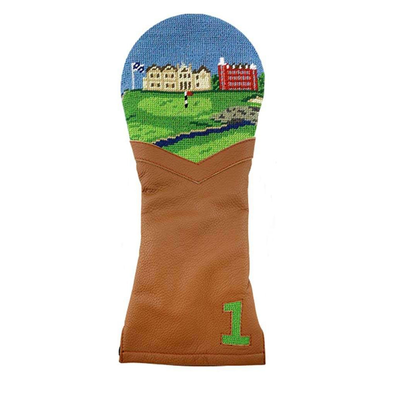 Smathers and Branson St Andrews Scene Needlepoint Hybrid Headcover by Smathers & Branson