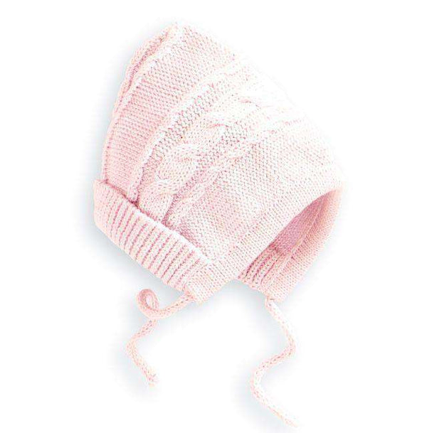 Baby,Kids - Baby Knit Hat In Pink By Bella Bliss - FINAL SALE