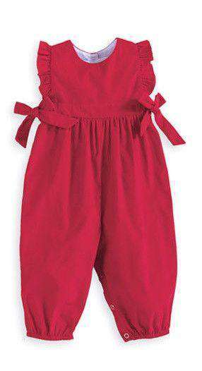 Baby,Kids - Berkley Overall In Red By Bella Bliss