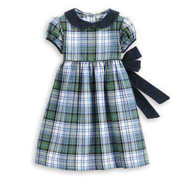 Baby,Kids - Bibby Dress In Brookside Plaid By Bella Bliss