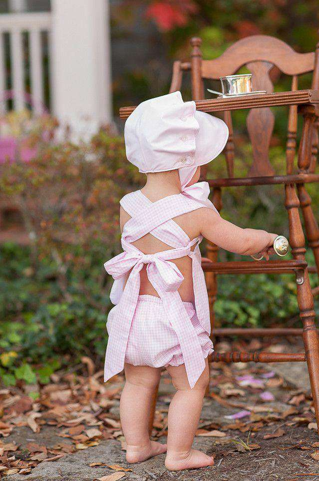 Baby,Kids - Bonnet In Plantation Pink By The Beaufort Bonnet Company