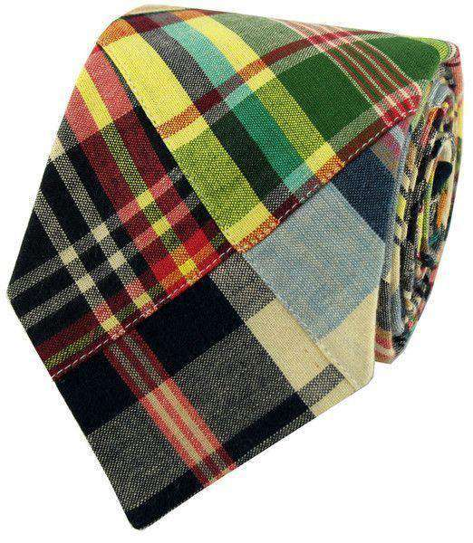 Baby,Kids - Child's Madras Plaid Tie In Great Island By Just Madras