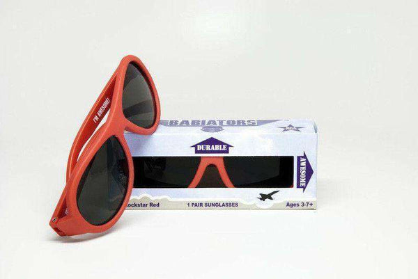 Children's Sunglasses in Rockstar Red by Babiators