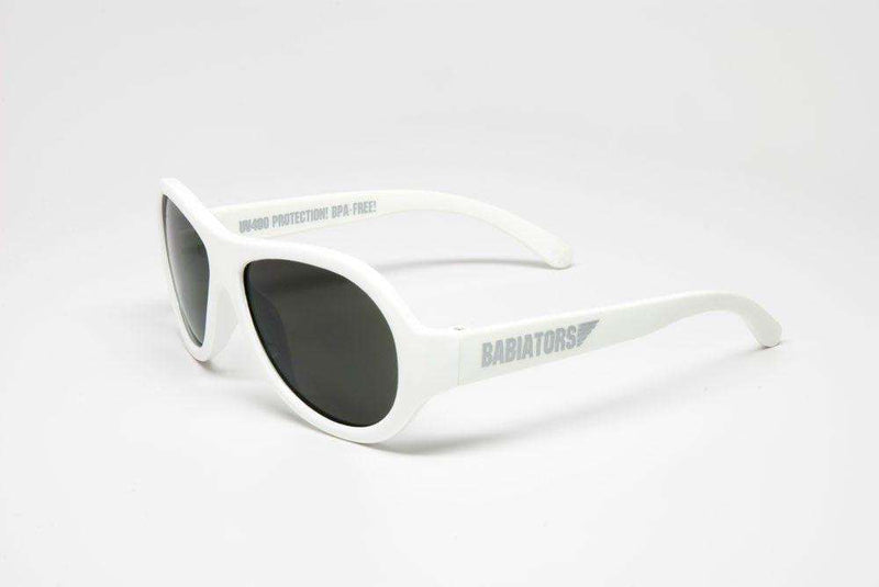 Baby,Kids - Children's Sunglasses In Wicked White By Babiators