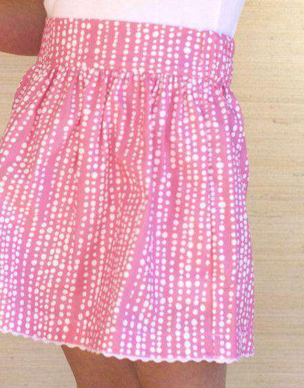 Girl's Party Skirt in Pink by Kayce Hughes - FINAL SALE