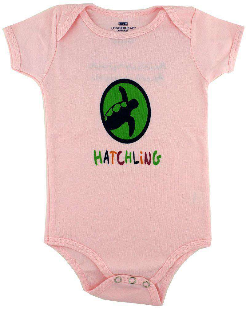 Baby,Kids - Infant Hatchling Onesie In Pastel Pink By Loggerhead Apparel - FINAL SALE