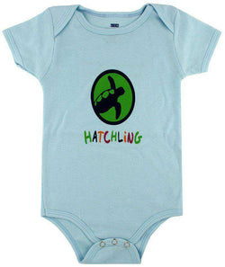 Baby,Kids - Infant Hatchling Onesie In Sky Blue By Loggerhead Apparel - FINAL SALE