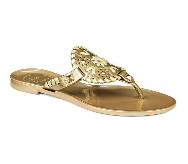 Baby,Kids - Miss Georgica Jelly Sandal In Gold By Jack Rogers