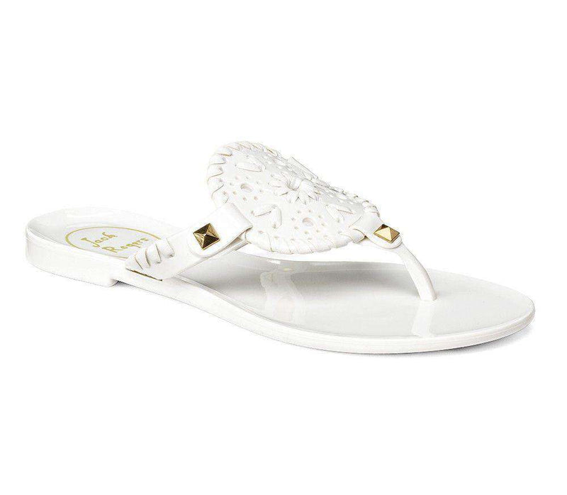 Baby,Kids - Miss Georgica Jelly Sandal In White By Jack Rogers