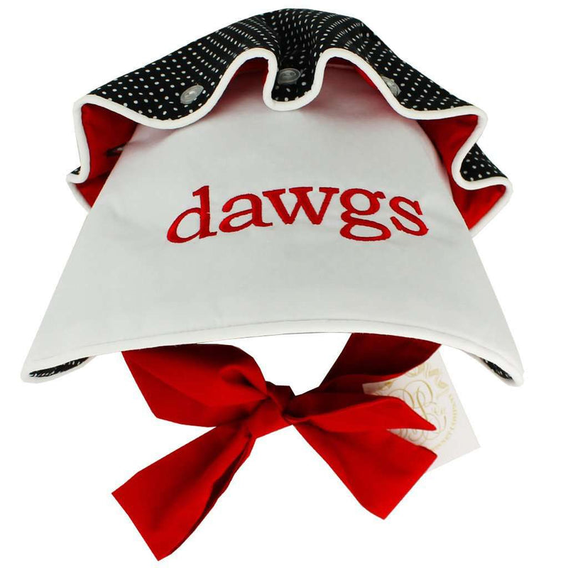 UGA Bonnet by The Beaufort Bonnet Company