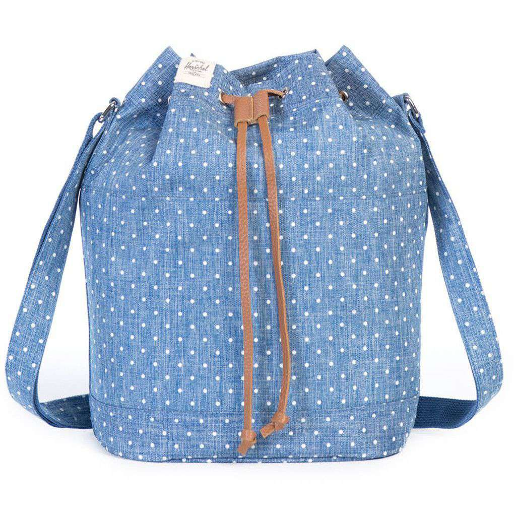 768428c72af Herschel Carlow Crossbody in Limoges with White Polka Dots – Country ...
