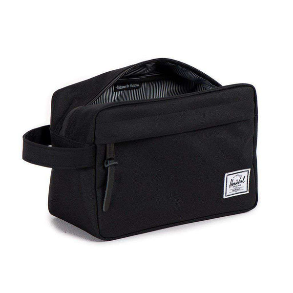 Chapter Travel Kit in Black by Herschel Supply Co. - FINAL SALE