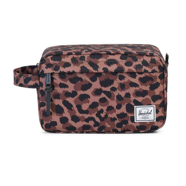 Chapter Travel Kit in Leopard by Herschel Supply Co. - FINAL SALE