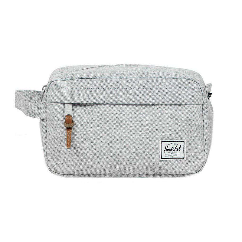 Chapter Travel Kit in Light Grey Crosshatch by Herschel Supply Co. - FINAL SALE