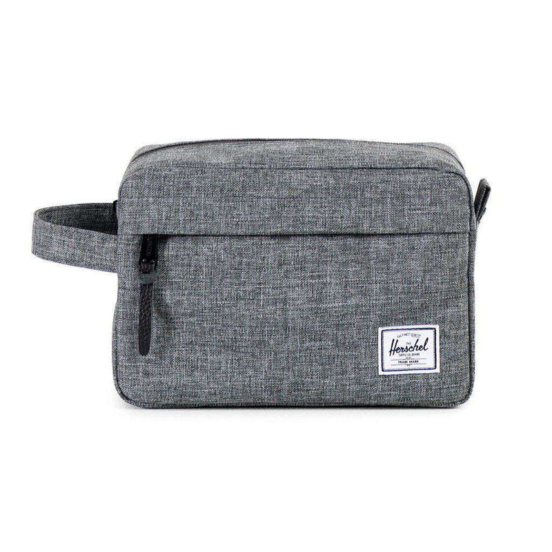 Chapter Travel Kit in Raven Crosshatch by Herschel Supply Co. - FINAL SALE