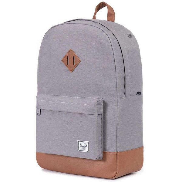 Bags - Heritage Backpack In Grey By Herschel Supply Co.