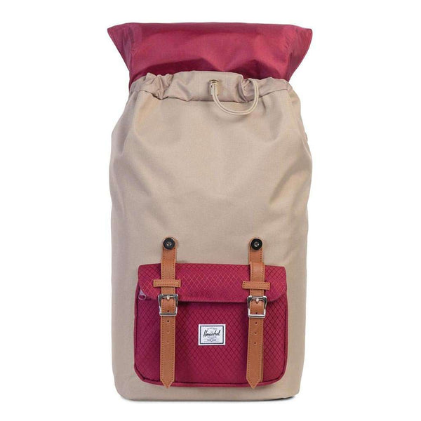 Little America Backpack in Brindle and Windsor Wine by Herschel Supply Co.