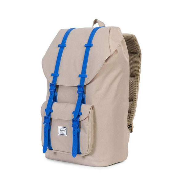 Little America Backpack in Brindle with Cobalt Rubber by Herschel Supply Co.