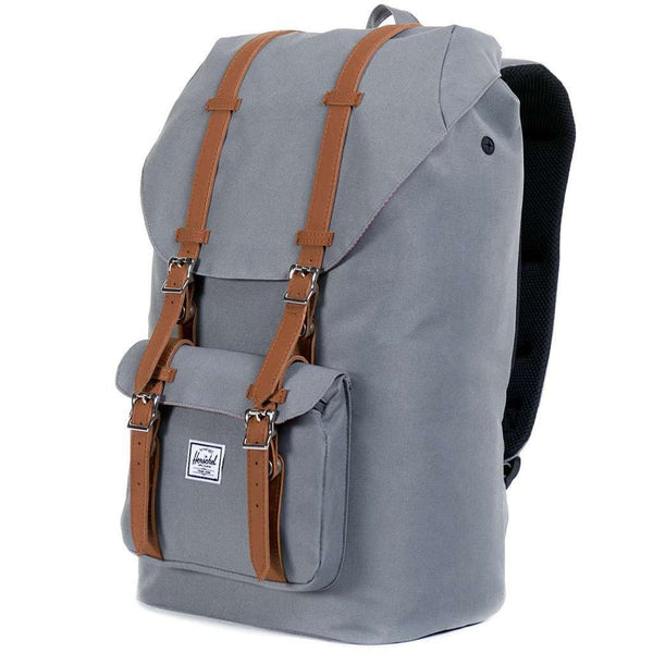 Bags - Little America Backpack In Grey By Herschel Supply Co.