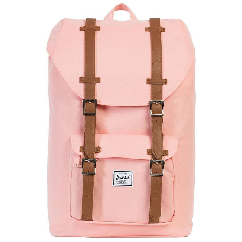 Little America Mid Volume Backpack in Apricot Blush by Herschel Supply Co.