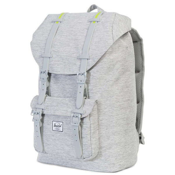 Little America Mid Volume Backpack in Light Grey Crosshatch by Herschel Supply Co. - FINAL SALE