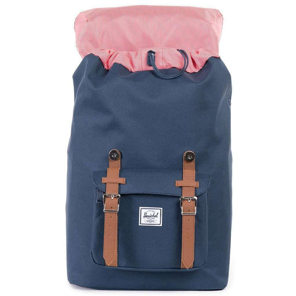 Little America Mid Volume Backpack in Navy by Herschel Supply Co.