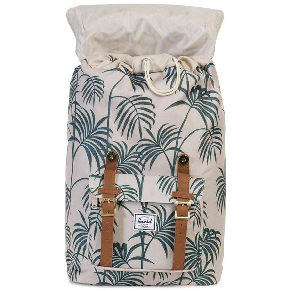 Little America Mid Volume Backpack in Pelican Palm by Herschel Supply Co. - FINAL SALE