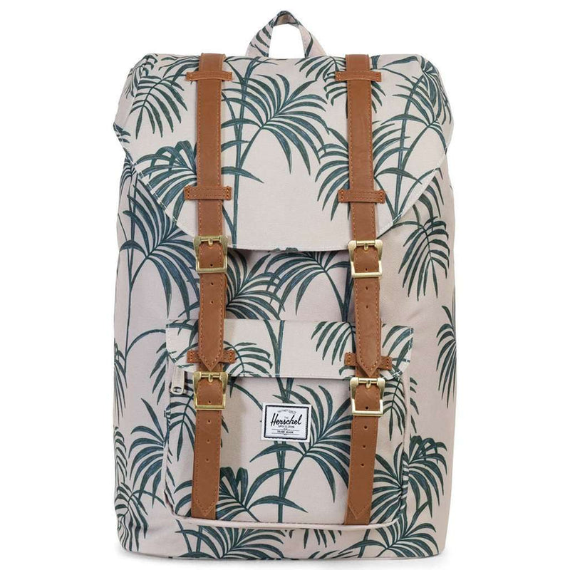 Bags - Little America Mid Volume Backpack In Pelican Palm By Herschel Supply Co. - FINAL SALE