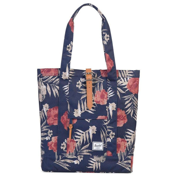 Market Tote in Peacoat Floria by Herschel Supply Co.