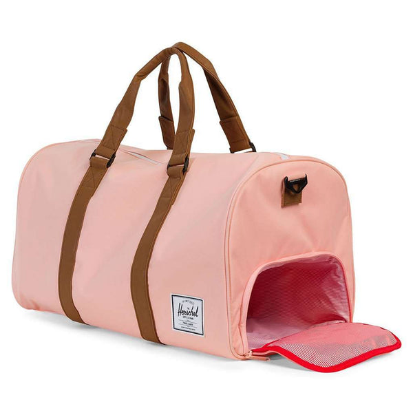 Novel Duffle Bag in Apricot Blush by Herschel Supply Co.