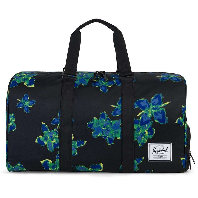 Bags - Novel Duffle Bag In Neon Floral By Herschel Supply Co.