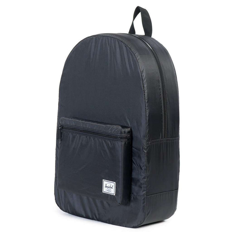Packable Daypack in Black by Herschel Supply Co. - FINAL SALE