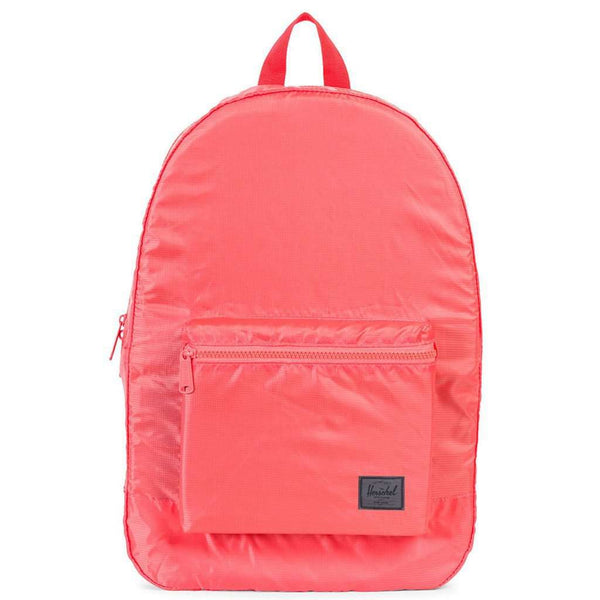 Packable Daypack in Hot Coral by Herschel Supply Co. - FINAL SALE