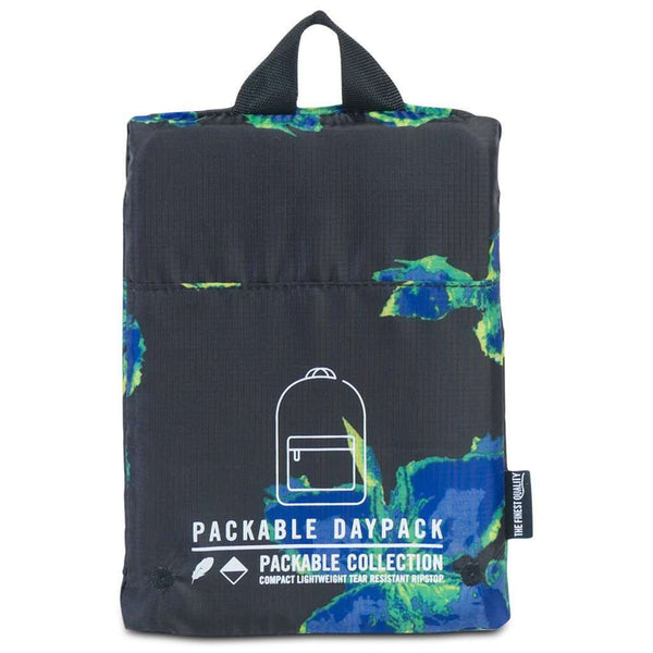 Packable Daypack in Neon Floral by Herschel Supply Co. - FINAL SALE
