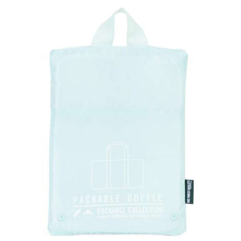 Bags - Packable Duffle In Blue Tint By Herschel Supply Co. - FINAL SALE