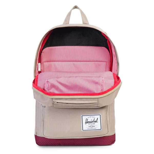 Pop Quiz Backpack in Brindle and Windsor Wine by Herschel Supply Co.