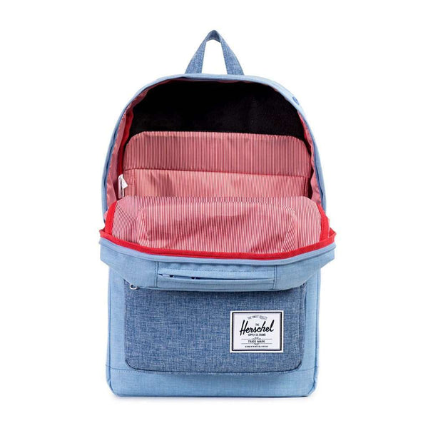 Pop Quiz Backpack in Chambray Crosshatch by Herschel Supply Co.