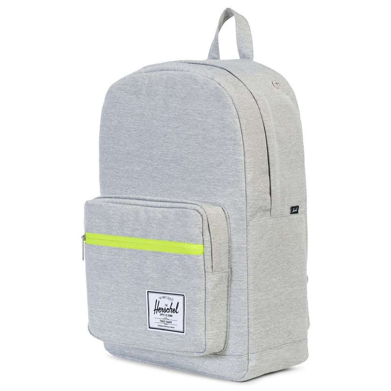 Pop Quiz Backpack in Light Grey Crosshatch by Herschel Supply Co. - FINAL SALE